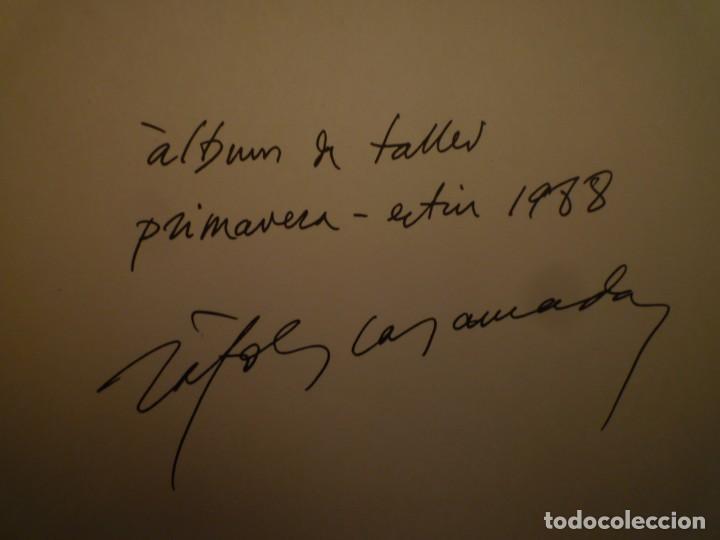 Arte: ALBERT RÀFOLS-CASAMADA. ÁLBUM DE TALLER. ED. GALERIA ÀMBIT. 1989 - Foto 9 - 116723547