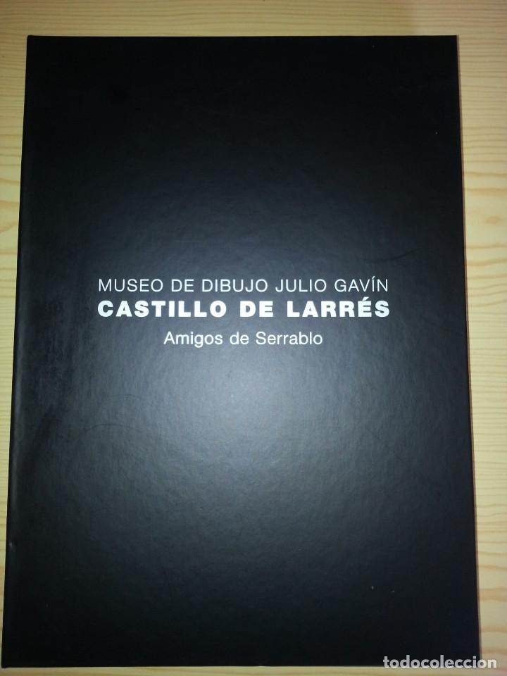 MUSEO DE DIBUJO JULIO GAVÍN - CASTILLO DE LARRÉS. CATÁLOGO. AMIGOS DE SERRABLO (Arte - Catálogos)