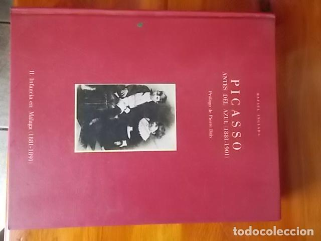 MAGNIFICO LIBRO DE ARTE / PICASSO ANTES DEL AZUL( 1881 ).1901)RAFAEL INGLADA PROLOGO DE PIERRE DAIX (Arte - Catálogos)