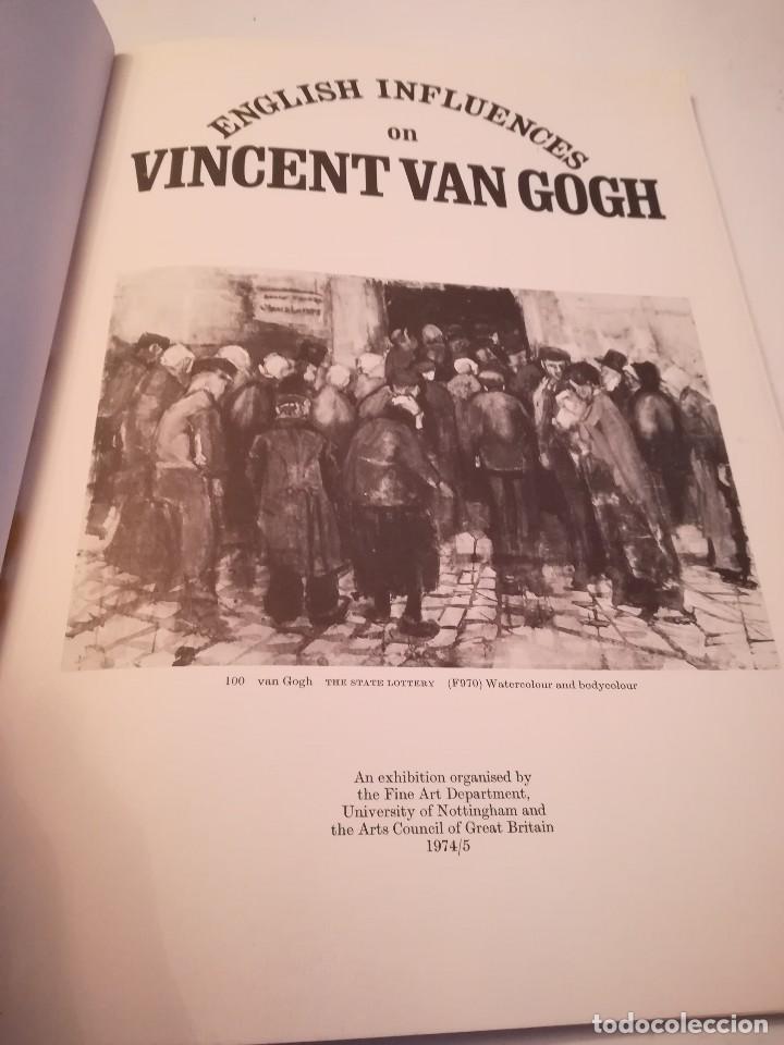 Arte: English influences on Vincent Van Gogh, catalogo de la exposición de Nottingham, 1974-75 - Foto 6 - 117752079