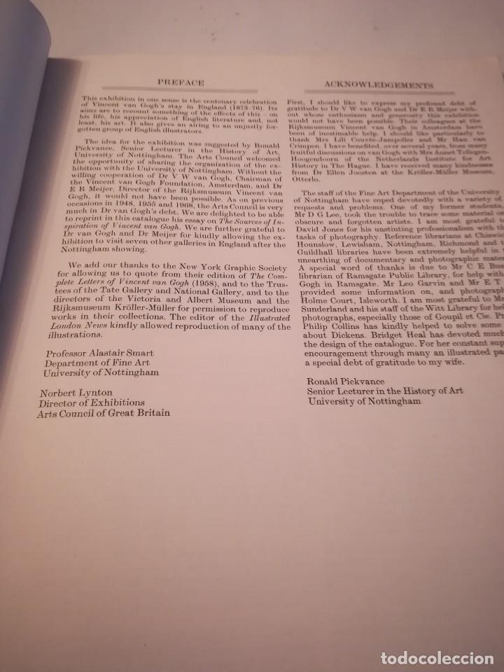 Arte: English influences on Vincent Van Gogh, catalogo de la exposición de Nottingham, 1974-75 - Foto 8 - 117752079