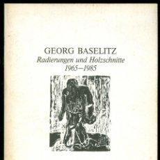 Arte: GEORG BASELITZ - 1965 - 1985 - GALERIE BUCHMANN BASEL. Lote 117865255