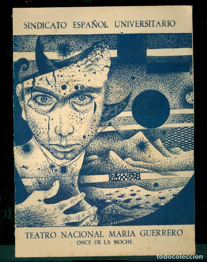 TÀPIES - 1953 - DIPTICO - TEATRO (Arte - Catálogos)