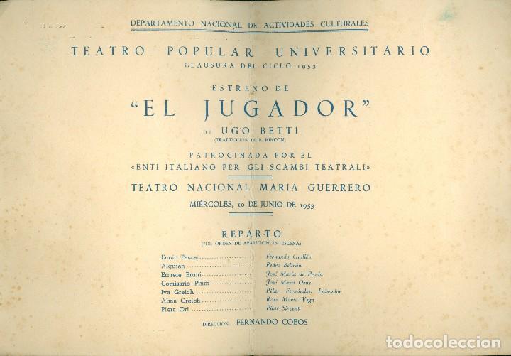 Arte: TÀPIES - 1953 - DIPTICO - TEATRO - Foto 2 - 117892159