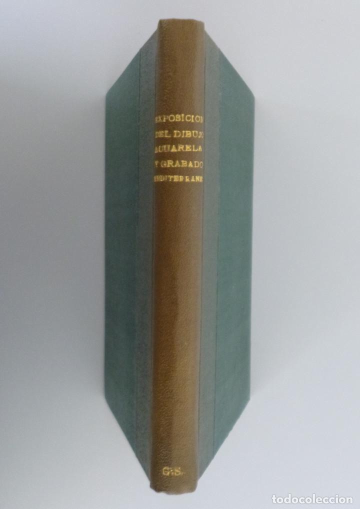 Arte: EXPOSICIÓN DEL DIBUJO, ACUARELA Y GRABADO MEDITERRANEO (1839-1939) // 99 LÁMINAS - Foto 3 - 117986999