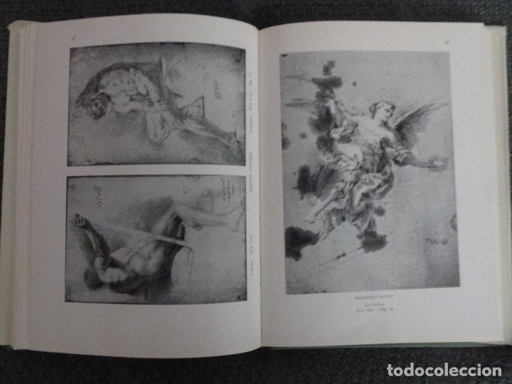 Arte: MUSEO DEL PRADO. CATALOGO DE DIBUJOS. TOMO II: DIBUJOS ESPAÑOLES. SIGLO XVIII A-B - Foto 2 - 118239927