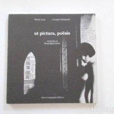 Arte: UT PICTURA, POËSIS, POESÍA VISUAL, POESIA VISIVA, VISUAL POETRY, MARIO LUZI, LUCIANO SAMPAOLI. Lote 118504583