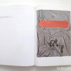 Art: ANTONI TAPIES, UNA ARQUITECTURA DE LO VISIBLE, FUNDACIÓN MARCELINO BOTÍN, CATÁLOGO 168 PAGINAS. Lote 118577551