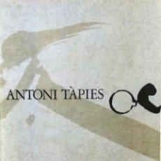 Arte: ANTONI TAPIES, RESTROSPECTIVA. CATÁLOGO DE LA EXPOSICIÓN. MUSEO ESPAÑOL DE ARTE CONTEMPORÁNEO, MADR. Lote 118661335