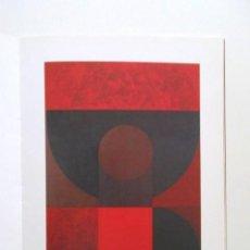 Arte: FEIT0, DIÁLOGO DE LA PINTURA, LUIS FEITO, 1997. Lote 118781403