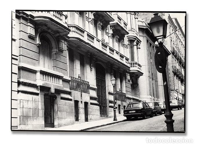 TARJETA INVITACIÓN A LA INAUGURACIÓN DE LA NUEVA GALERÍA EDURNE, MADRID, OCTUBRE 1986 – 10 X 15 CM (Arte - Catálogos)