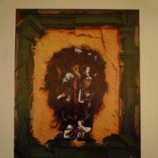Arte: JOSEP GRAU-GARRIGA. TAPICES Y PINTURAS. CAIXA PENSIONS. VALENCIA. 1983. Lote 119420487
