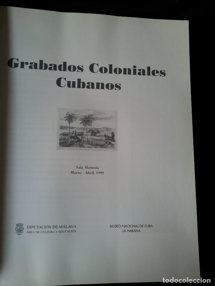 Arte: GRABADOS COLONIALES CUBANOS - EXPOSICION EN SALA ALAMEDA 1999 - MALAGA - Foto 2 - 119555407