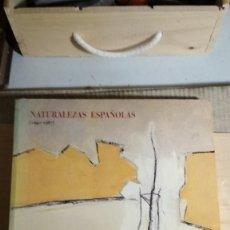 Arte: CATALOGO NATURALEZAS ESPAÑOLAS 1940-1987 CENTRO DE ARTE REINA SOFIA. Lote 119584683