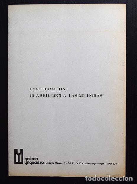 Arte: Dimitri Perdikidis – tríptico Galería Ynguanzo, Madrid, 1975 - Foto 6 - 120368679