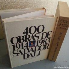 Arte: 400 OBRAS DE SALVADOR DALÍ (1914-1983). 2 VOLS. ENCUADERNADOS EN ACORDEÓN, CON ESTUCHE. Lote 120767083