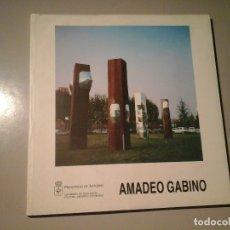 Arte: AMADEO GABINO. MUSEO BARJOLA 1994. GIJÓN. DEDICADO Y FIRMADO POR EL ESCULTOR. ESCULTURA. RARO. Lote 120768887
