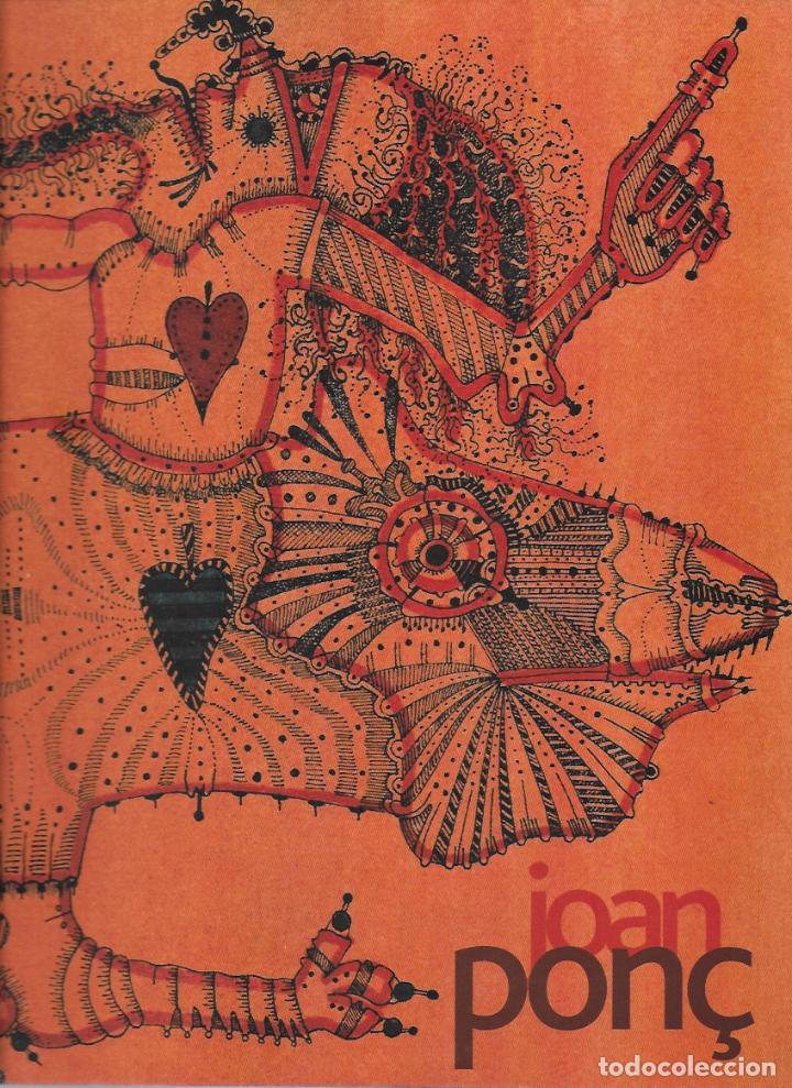 JOAN PONÇ. CENTRE CULTURAL FUNDACIÓ LA CAIXA. BCN, 2002. 30X24 CM. 205 P. (Arte - Catálogos)