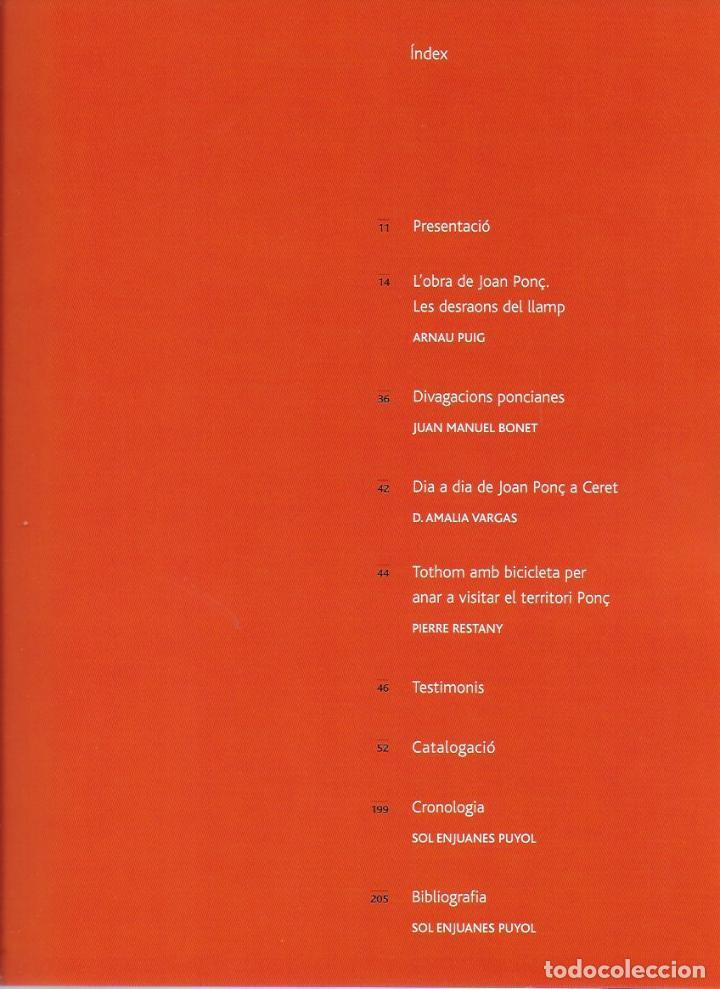 Arte: Joan Ponç. Centre Cultural Fundació La Caixa. BCN, 2002. 30x24 cm. 205 p. - Foto 3 - 121042167