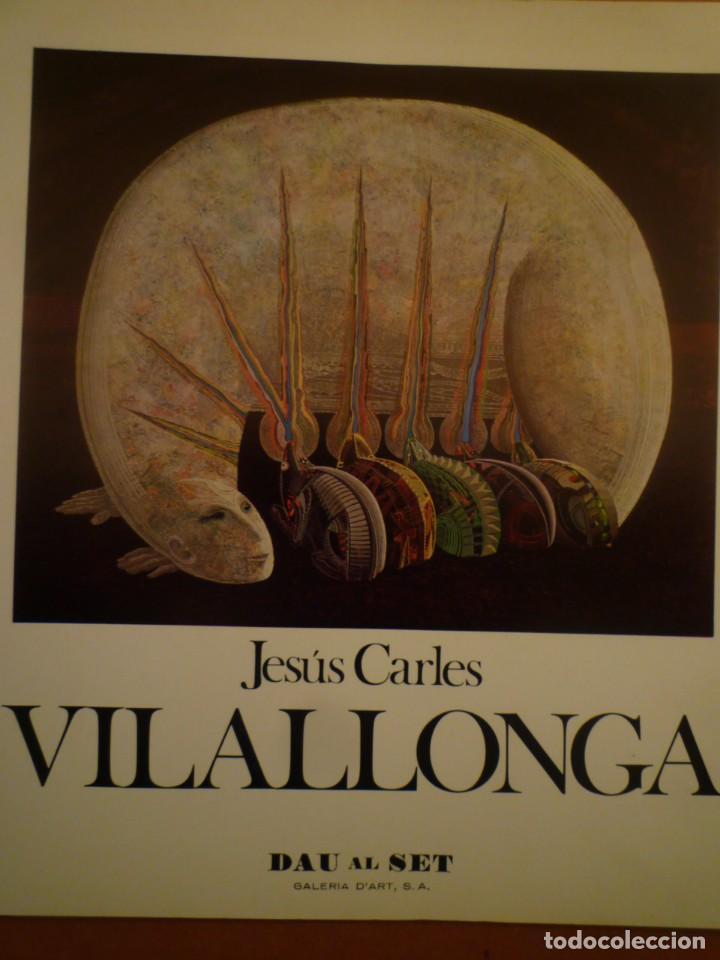 JESÚS CARLES VILALLONGA. 1945-1976. DAU AL SET GALERIA D'ART. 1976 (Arte - Catálogos)