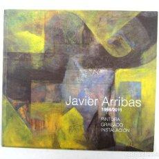 Arte: JAVIER ARRIBAS (1996-2011), PINTURA, GRABADO, INSTALACIÓN, FUNDACIÓN DIAZ CANEJA, PALENCIA. 12X20CM. Lote 121116751