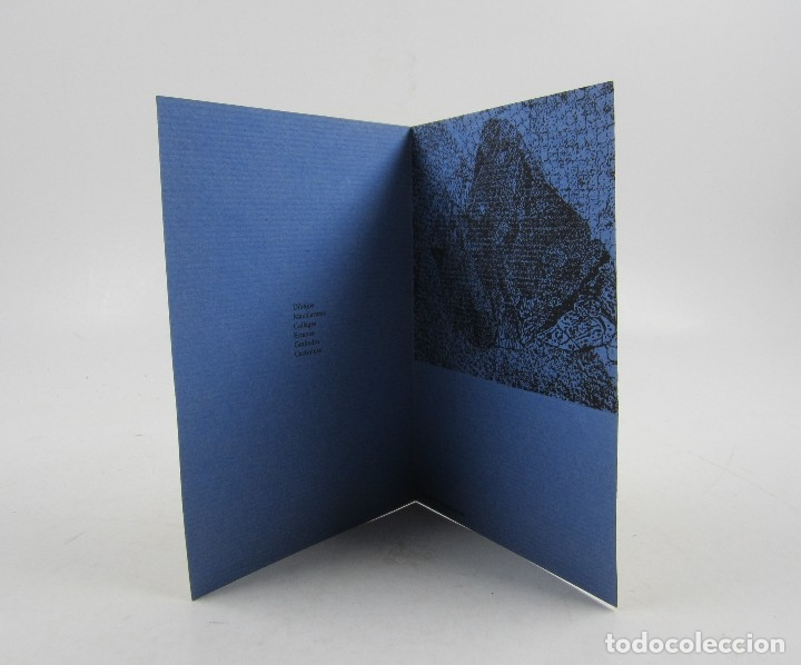 Arte: 0 figura, grafismes, Claret, Tharrats, Vilacasas, Sala Gaspar, 1963, Barcelona. 12,5x17,5cm - Foto 2 - 121331311