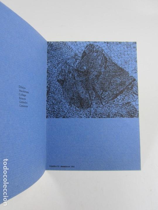 Arte: 0 figura, grafismes, Claret, Tharrats, Vilacasas, Sala Gaspar, 1963, Barcelona. 12,5x17,5cm - Foto 3 - 121331311