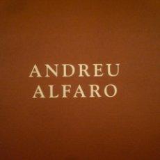 Arte: ANDREU ALFARO. ESCULTURES I DIBUIXOS. GALERIA JOAN GASPAR. 2000. Lote 122176395