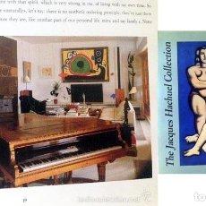 Arte: THE JACQUES HACHUEL COLLECTION. THE SPANISH INSTITUTE, NEW YORK (CARMEN GIMÉNEZ; SUZANNE L. STRATTON. Lote 214363697