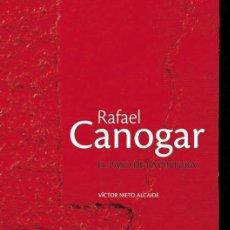 Arte: RAFAEL CANOGAR EL PASO DE LA PINTURA. Lote 122260079