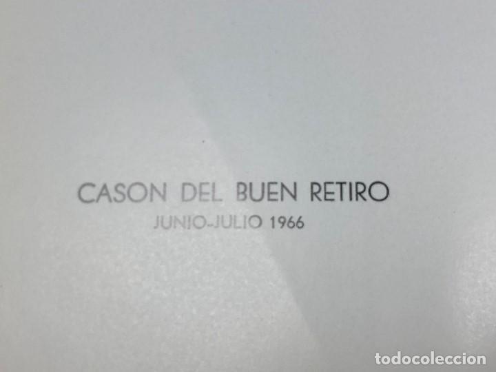 Arte: I exposicion de anticuarios ministerio educacion nacional junio 1966 catalogo cason buen retiro 20cm - Foto 3 - 122547363