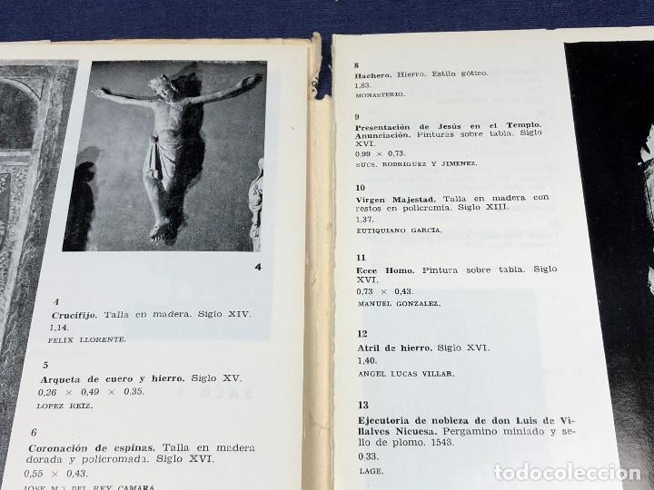 Arte: I exposicion de anticuarios ministerio educacion nacional junio 1966 catalogo cason buen retiro 20cm - Foto 8 - 122547363