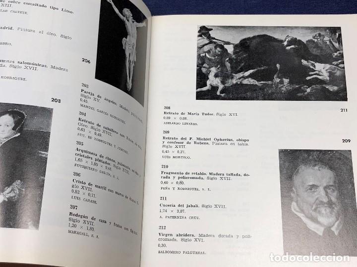 Arte: I exposicion de anticuarios ministerio educacion nacional junio 1966 catalogo cason buen retiro 20cm - Foto 9 - 122547363