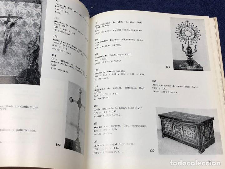 Arte: I exposicion de anticuarios ministerio educacion nacional junio 1966 catalogo cason buen retiro 20cm - Foto 11 - 122547363