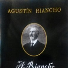 Arte: AGUSTIN DE RIANCHO (ENTRAMBASMESTAS 1841- ALCEDA 1929) - 88 PP -. Lote 134835806