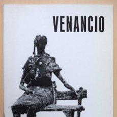 Arte: VENANCIO BLANCO – GALERÍA XINER, VALENCIA 1972 - TEXTO DE JOSÉ CAMÓN AZNAR. Lote 123553943