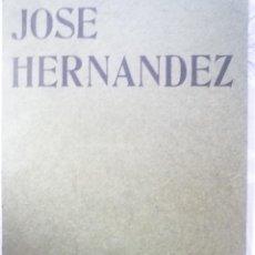Arte: JOSÉ HERNÁNDEZ. GALERIA EDURNE. 1966. Lote 124485011