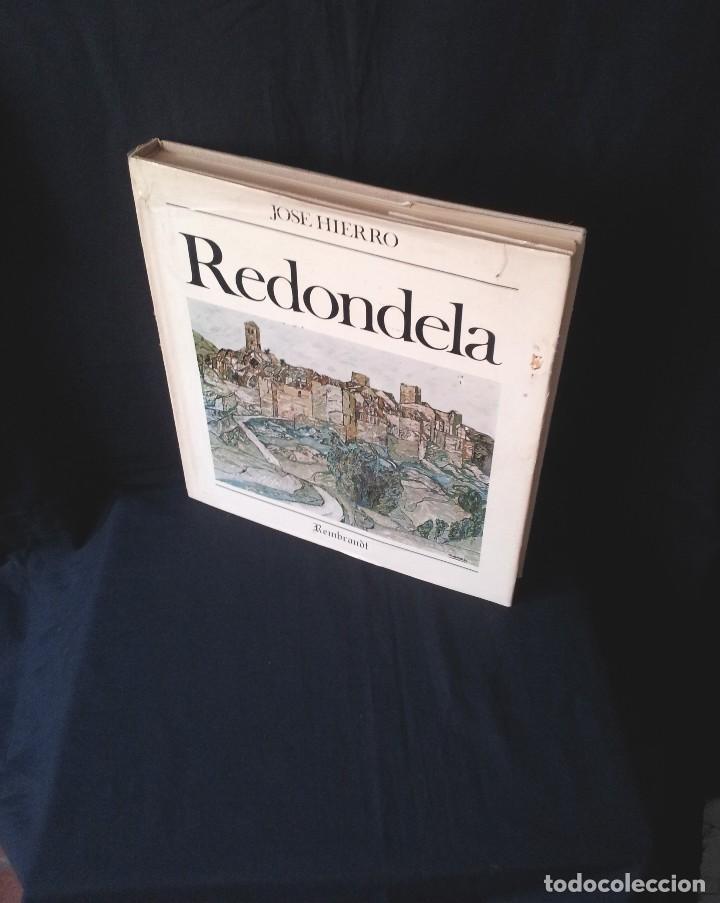 JOSE HIERRO - REDONDELA + 4 LITOGRAFÍAS ORIGINALES FIRMADAS Y NUMERADAS - EDICIONES REMBRANDT 1979 (Arte - Catálogos)