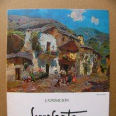 Arte: CATALOGO DEL PINTOR SERRASANTA EXPOSICION DE PINTURA AL OLEO 1979. Lote 125954319