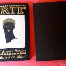 Arte: ERTÉ - 1ª EDICIÓN - ITALIA - FRANCO MARIA RICCI - 1970. Lote 126017095