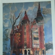 Arte: LES PUNXES DE BARCELONA,ANGEL URANGA, 50 X 30 CMS. Lote 126340931