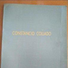 Arte: CONSTANCIO COLLADO: PINTURAS (CATÁLOGO EXPOSICIÓN EDGAR NEVILLE). Lote 126358355