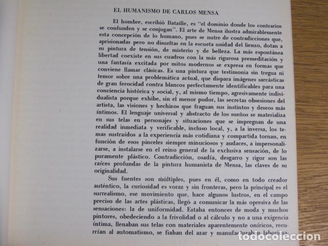 Arte: Carlos Mensa. Sala Pelaires, Palma de Mallorca, 1972 - Foto 2 - 126770055