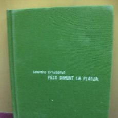 Arte: LEANDRE CRISTOFOL. PEIX DAMUNT LA PLATJA. COL-LEGI D'ARQUITECTES DE LLEIDA. 20 FEBRER 2007.. Lote 128697687