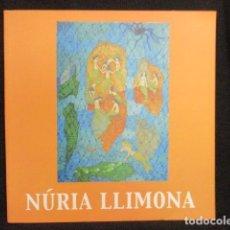 Arte: NÚRIA LLIMONA. CATÀLEG 2004. . Lote 128741167