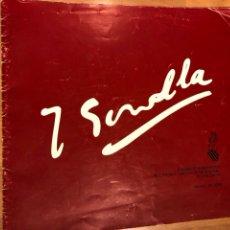 Arte: PROGRAMA EXPOSICIÓN HOMENAJE JOAQUIM SOROLLA 1979. Lote 128835258