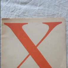 Arte: X SALON DE OCTUBRE.MUSEO ARTE MODERNO.PINTORES Y ESCULTORES BARCELONA.1957. ANTONI TAPIES.SUBIRACHS. Lote 128950559