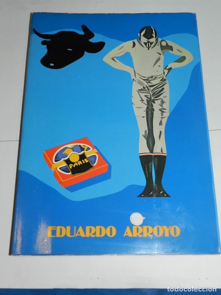 (M) EDUARDO ARROYO - CATALOG 20 AÑOS DE PINTURA 1962 - 1982 ,DEDICATORIA AUTOGRAFA DE EDUARDO ARROYO (Arte - Catálogos)