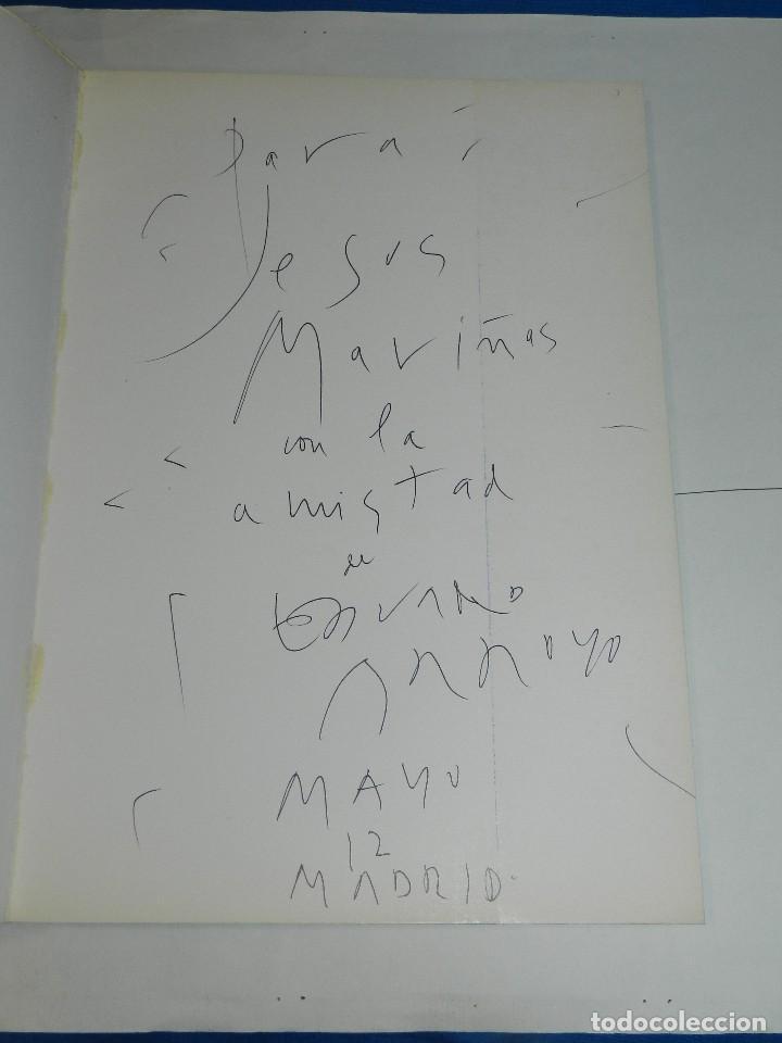Arte: (M) EDUARDO ARROYO - CATALOG 20 AÑOS DE PINTURA 1962 - 1982 ,DEDICATORIA AUTOGRAFA DE EDUARDO ARROYO - Foto 2 - 129444835