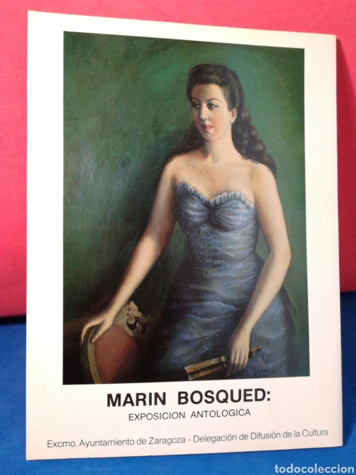 MARÍN BOSQUED, EXPOSICIÓN ANTOLÓGICA - CATÁLOGO EXPOSICIÓN - ZARAGOZA, 1984 (Arte - Catálogos)